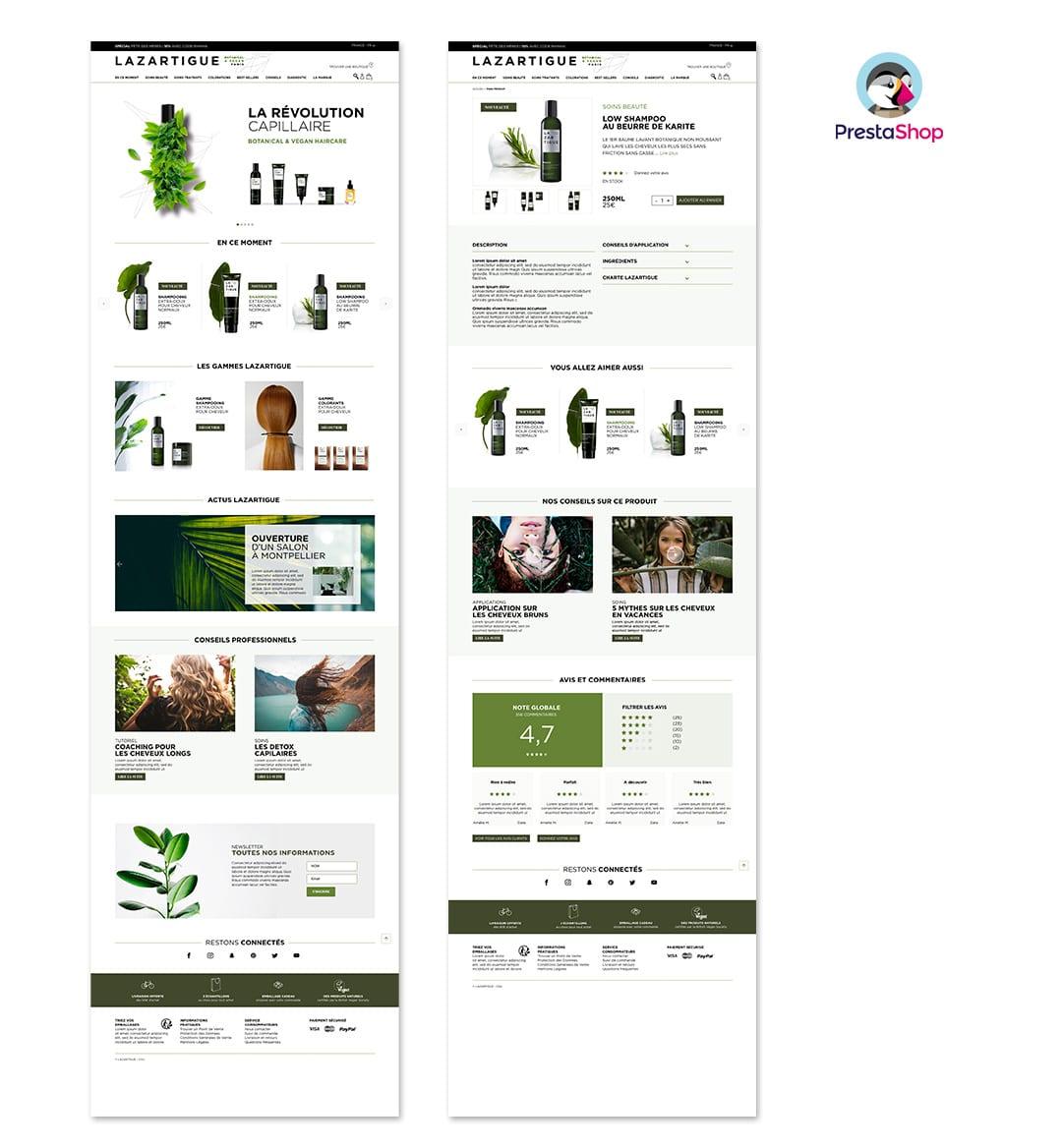 Magento 2 site e-commerce